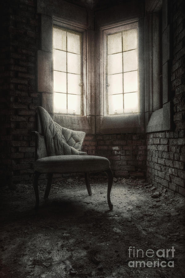 Chair Photograph - To Light The Way by Margie Hurwich