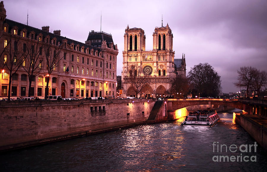 To Notre Dame Photograph - To Notre Dame by John Rizzuto