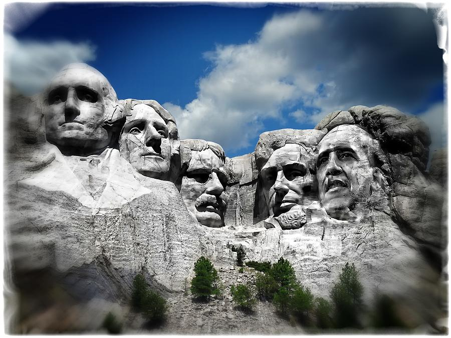 Rushmore Photograph - To Soon by Wayne Gill