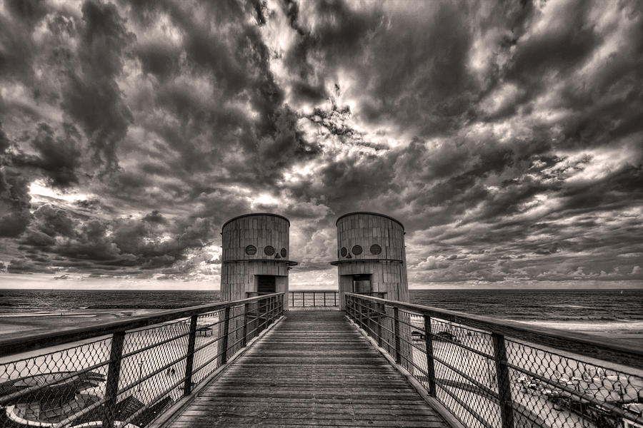 Bridge Photograph - To The Bridge by Ron Shoshani