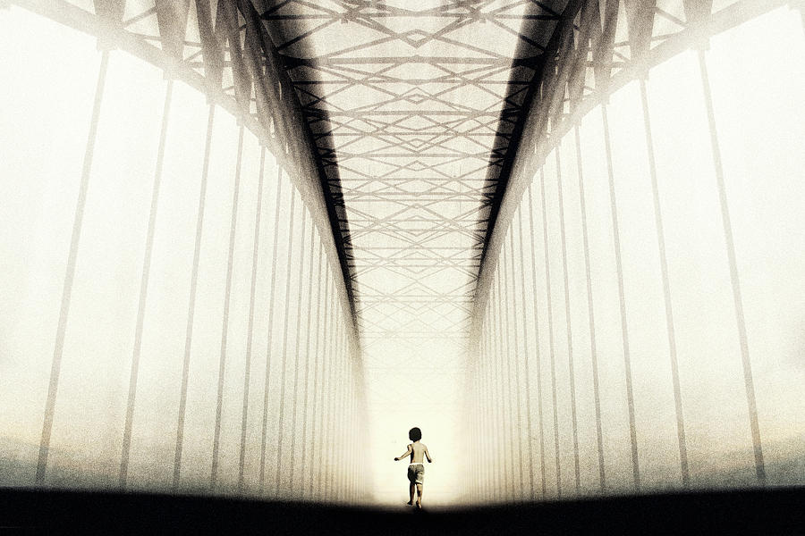 Creative Edit Photograph - To The Future... by Trijoko