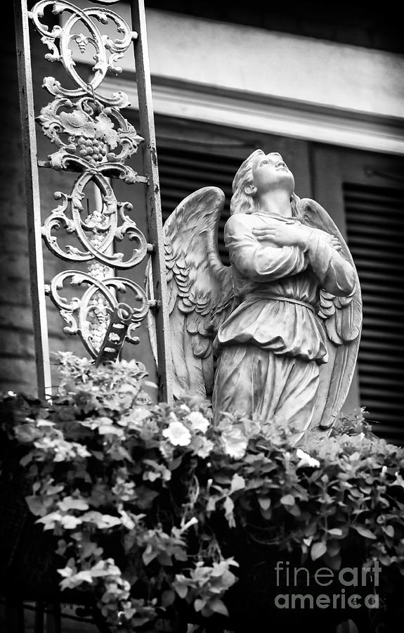 Angel Photograph - To The Heavens by John Rizzuto