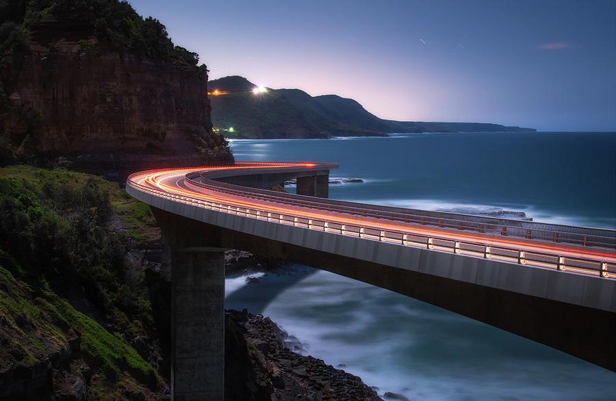 Bridge Photograph - To The Light by Joshua Zhang