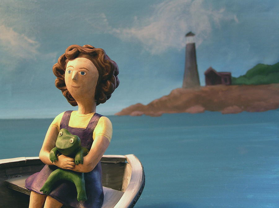 Girl Photograph - To the Lighthouse by Jennifer Montgomery