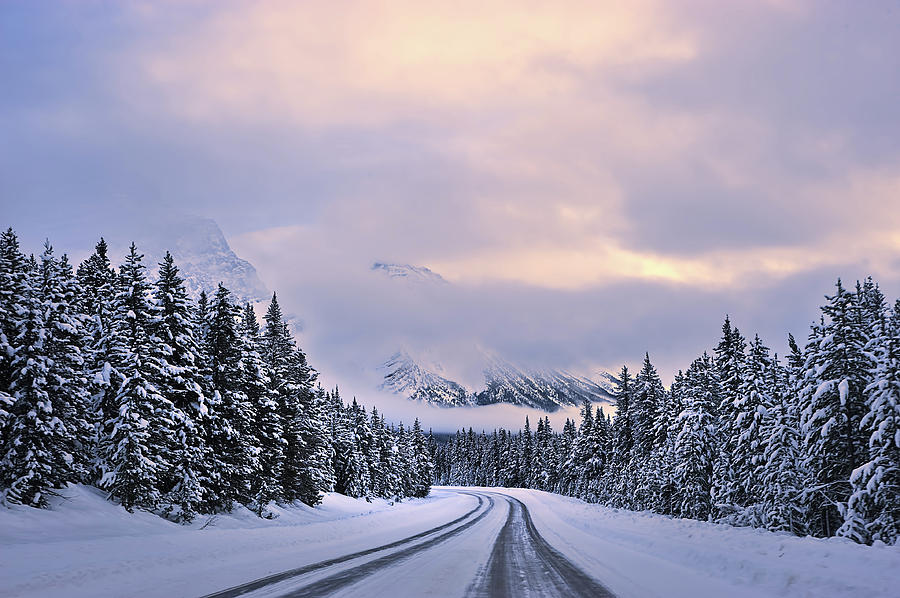 Winter Photograph - To The Wonderland by Mei Xu