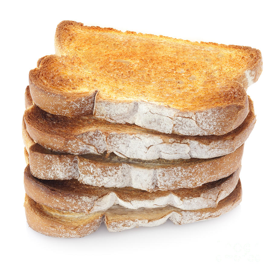 Bread Photograph - Toast Stack by Colin and Linda McKie