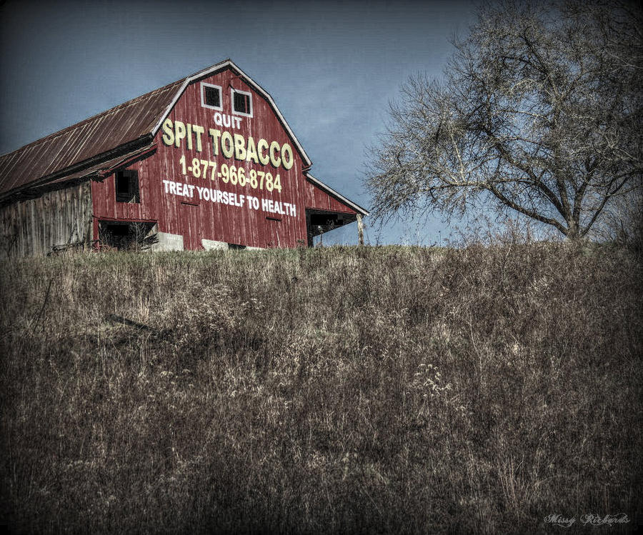 Tobacco Barn Photograph By Missy Richards