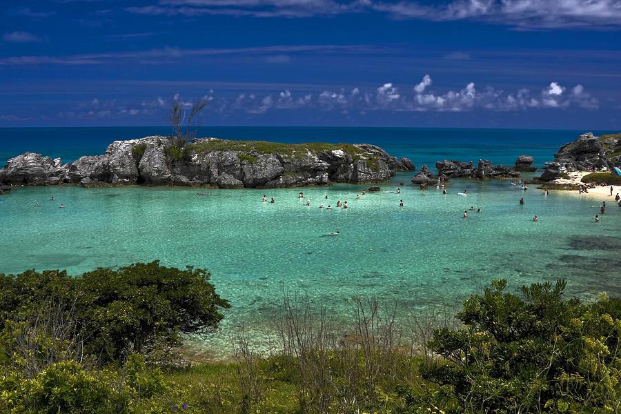 Tobacco Bay Bermuda Photograph by Sally Weigand