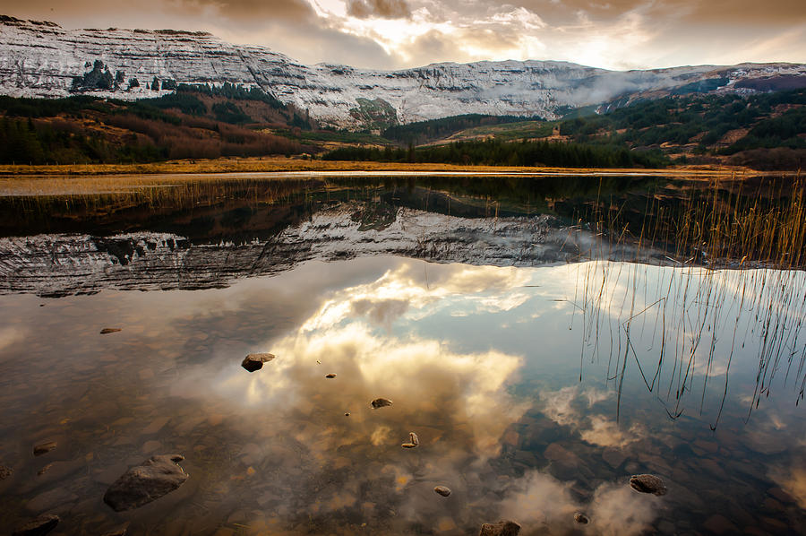 Scotland Photograph - Tobacco Sky by Tony Skerl