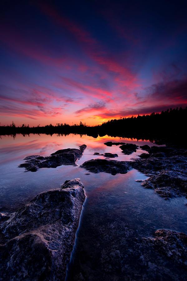 Tobermory Sunset 2 Photograph