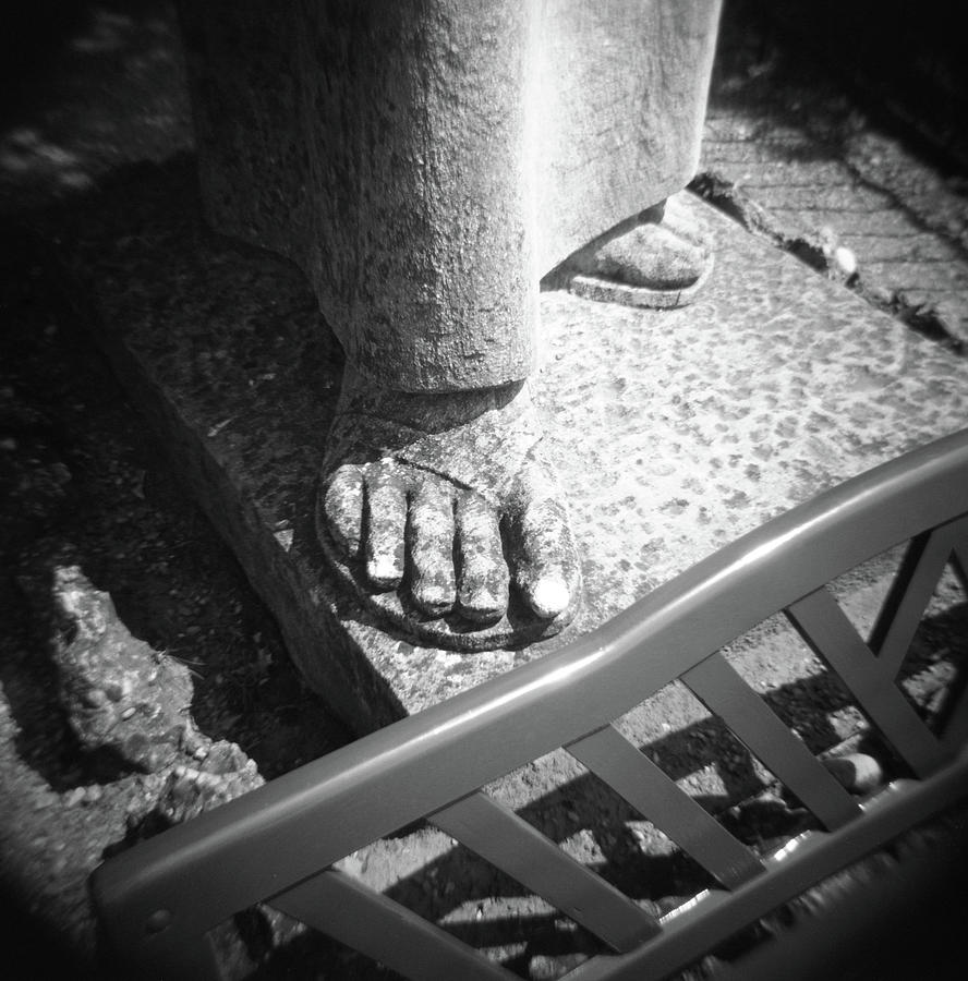 Larson Photograph - Toes of Salvation by Greg Larson