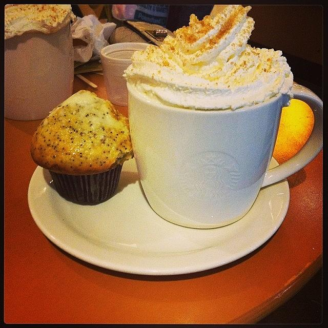 Poppyseed Photograph - Toffe Nut Latte And Lemon & Poppy Seed by Lauren Simmons