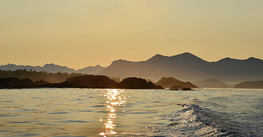 Tofino Morning On The Pacific Ocean Photograph by Jan Lyall Photography
