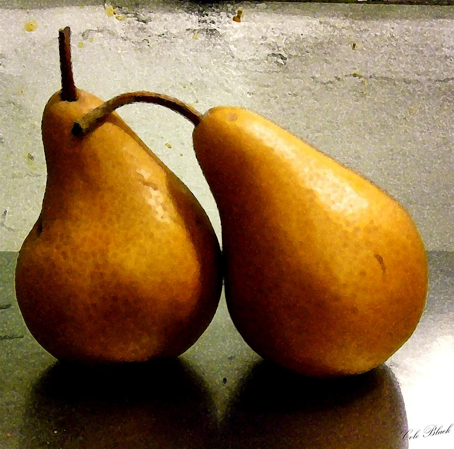 Pear Painting - Together by Cole Black