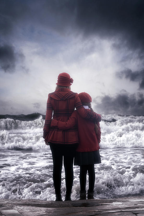 Girl Photograph - Together We Are Strong by Joana Kruse