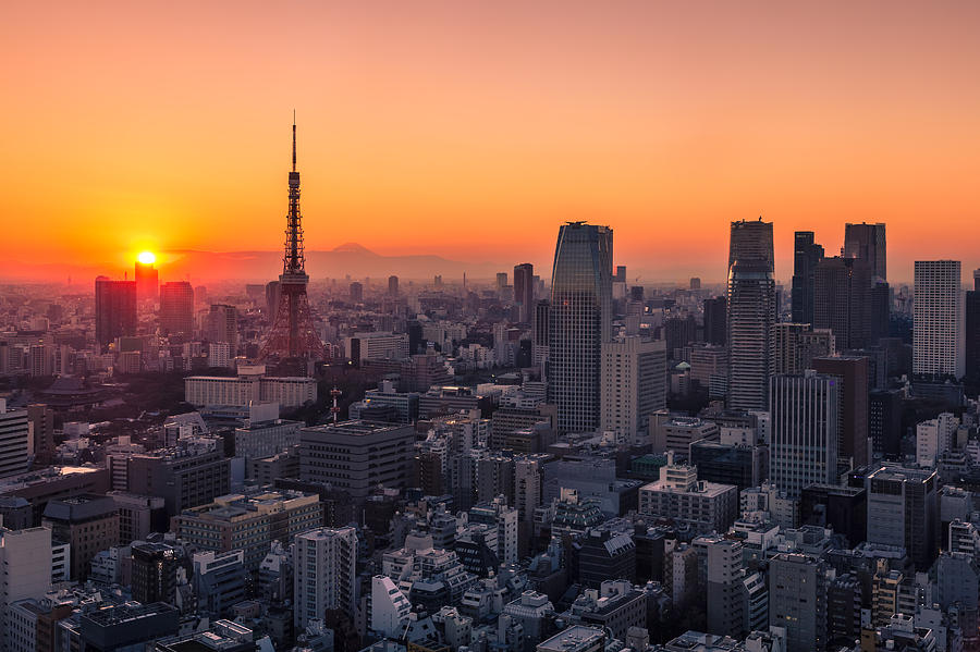 Tokyo Photograph - Tokyo 10 by Tom Uhlenberg