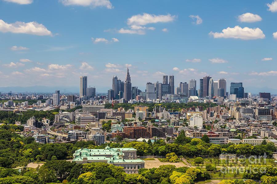Tokyo Photograph - Tokyo 34 by Tom Uhlenberg