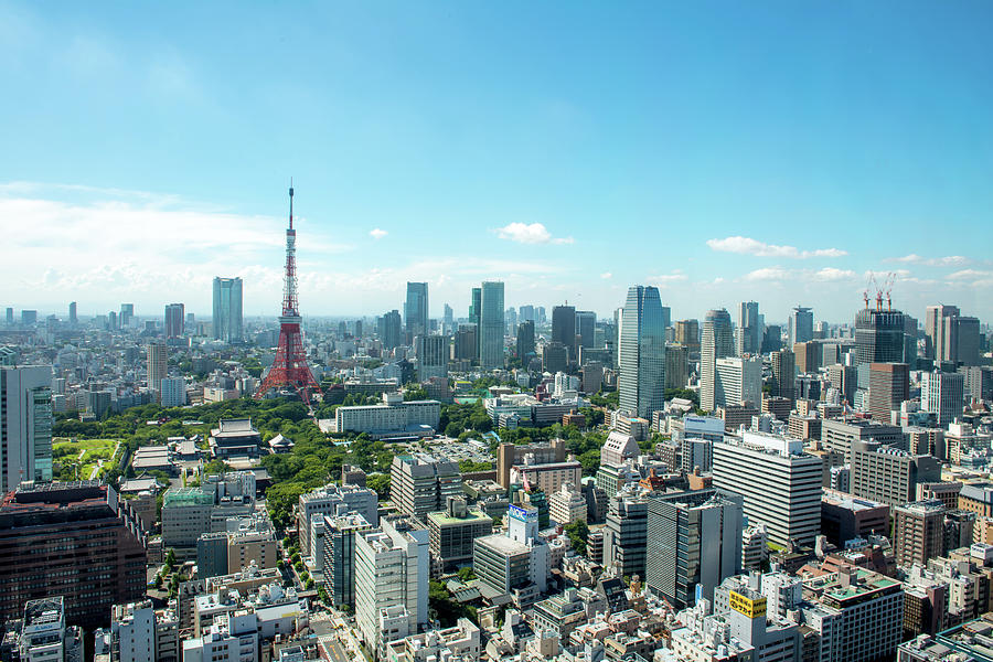 Tokyo City Photograph by I Love Photo And Apple.