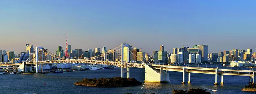 Tokyo Downtown Panorama Photograph by Vladimir Zakharov