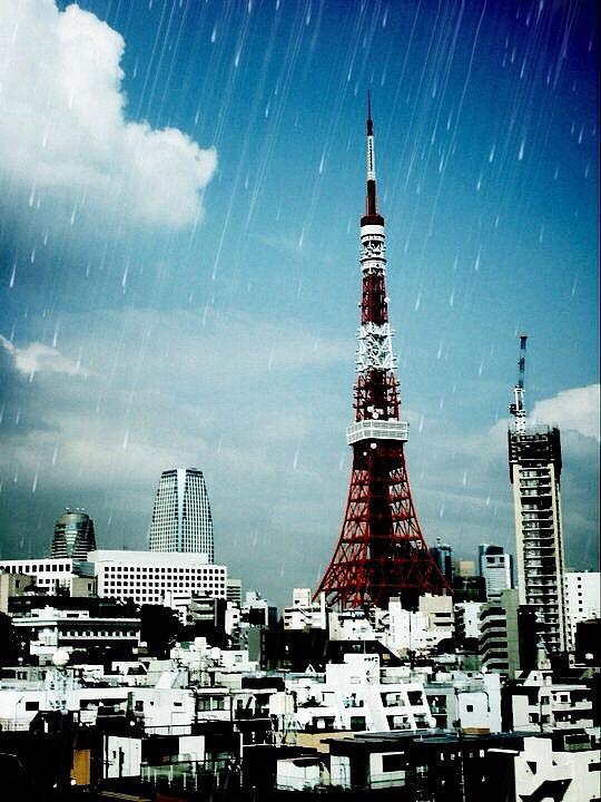 Tokyo Digital Art - Tokyo Eiffel  by Natalya Karavay