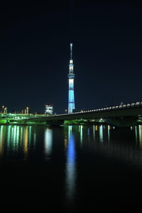 Tokyo Skytree Photograph by Y.zengame