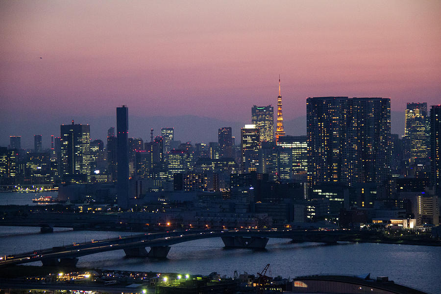 Tokyo Tower In Twilight Photograph by ©alan Nee