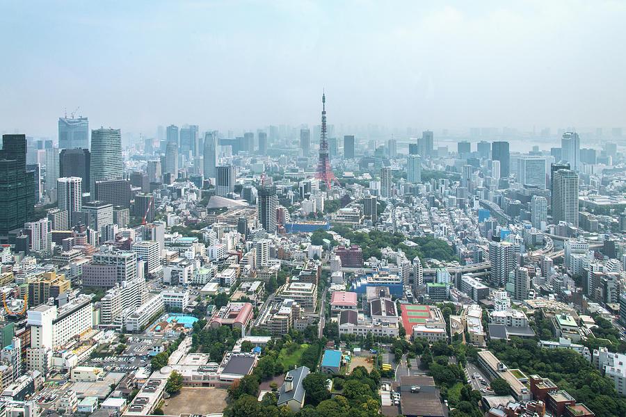 Tokyo Tower Photograph by Piriya Photography