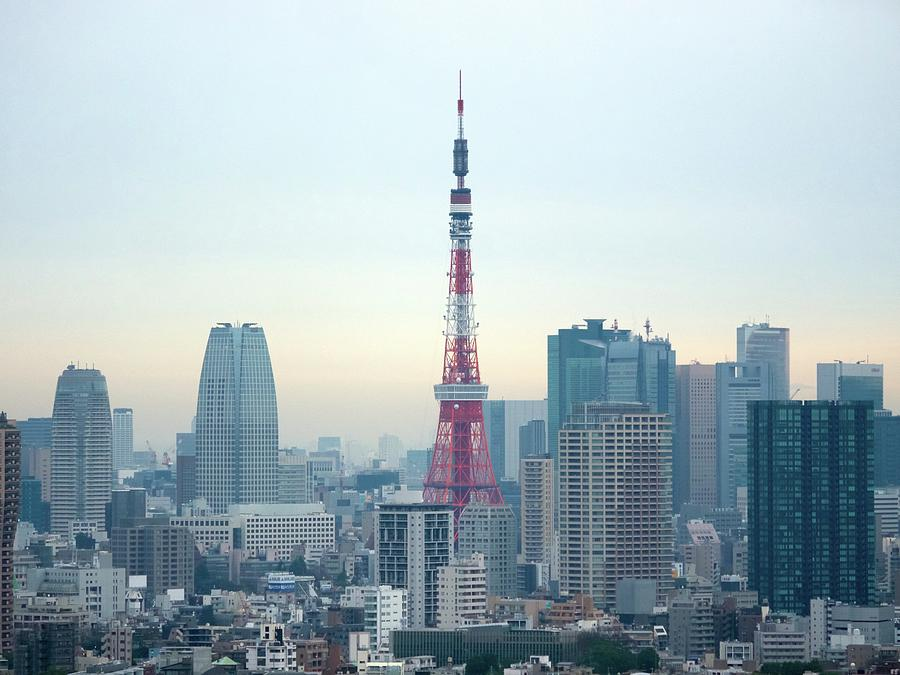 Tokyo Tower Photograph by Simple