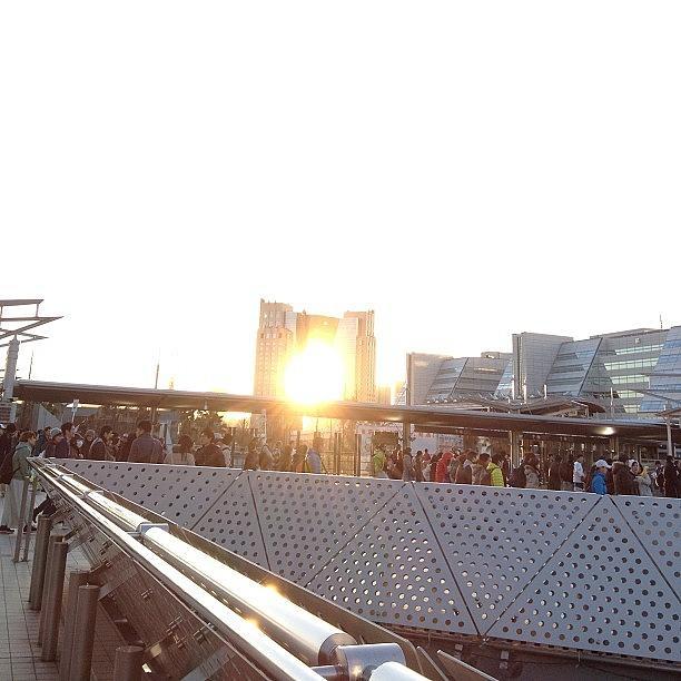 Sunset Photograph - #tokyo#landscape#sunset by Tokyo Sanpopo