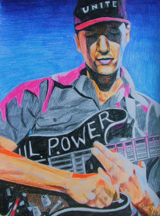 Tom Morello Drawing by Jeremy Moore