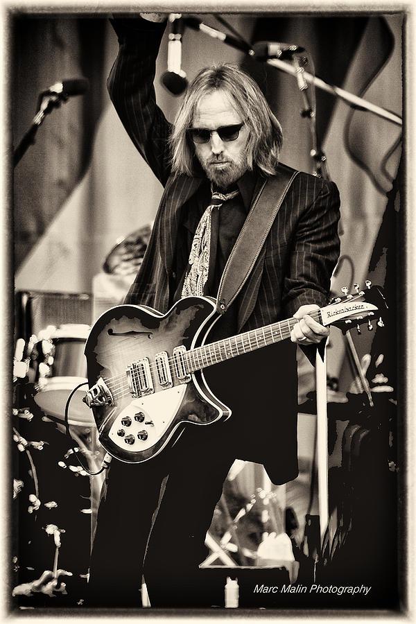 Tom Petty Photograph - Tom Petty by Marc Malin