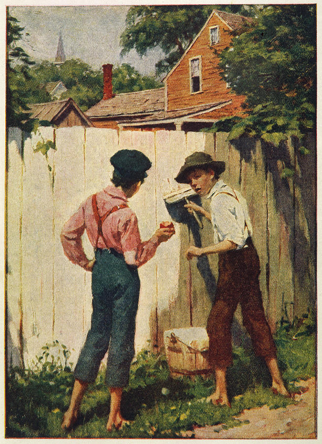 https://images.fineartamerica.com/images-medium-large-5/tom-sawyer-whitewashing-the-fence-mary-evans-picture-library.jpg