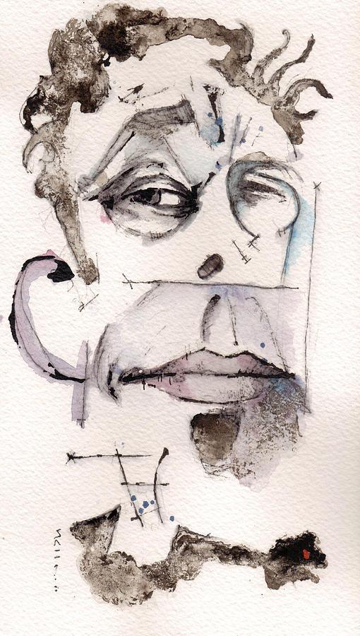 Tom Waits Painting - Tom Waits As Tom Waits by Mark M  Mellon