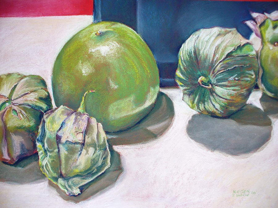 Tomatillo Ole by Outre Art  Natalie Eisen