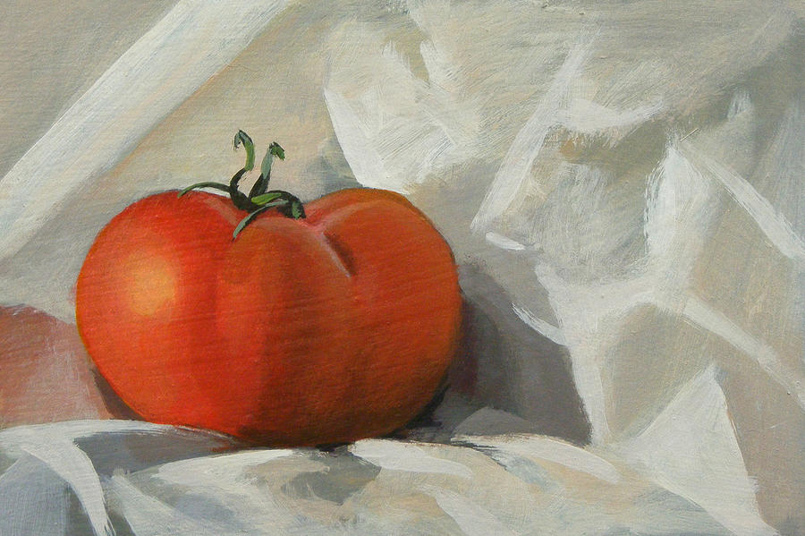 Tomato Painting - Tomato by Peter Orrock
