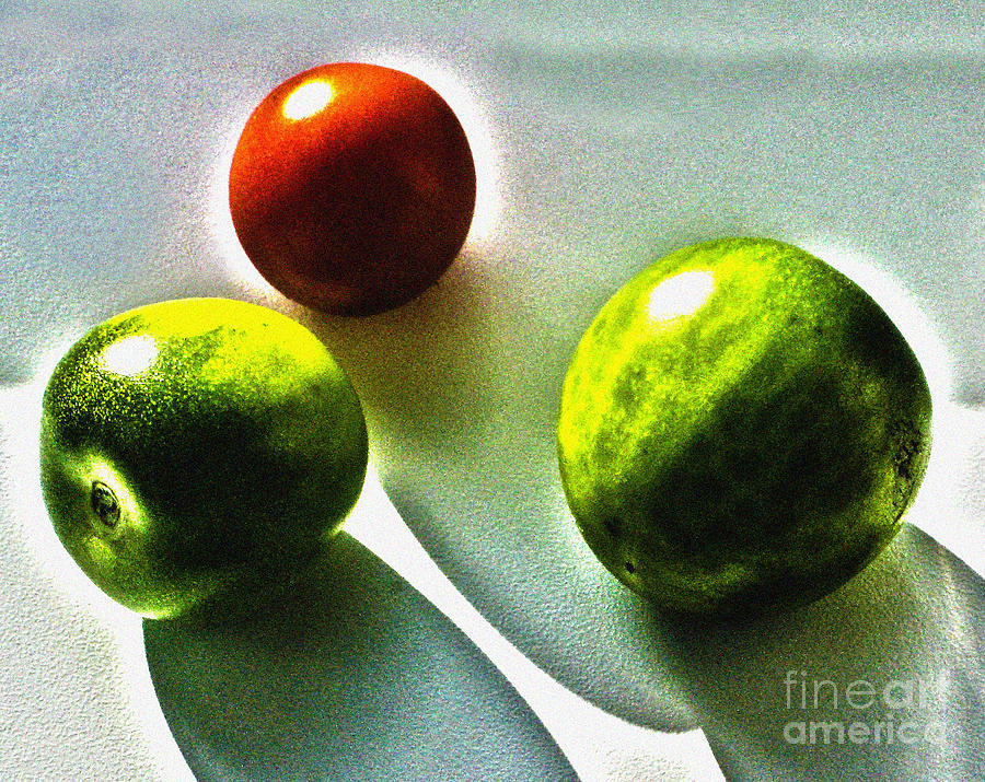Tomato Photograph - Tomato Phases by Kim Lessel