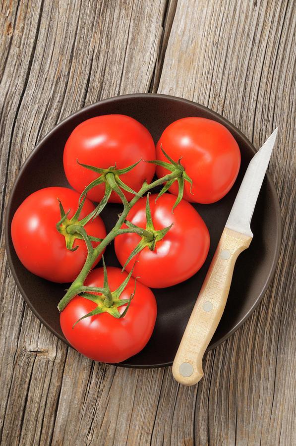 Tomato Photograph by Riou