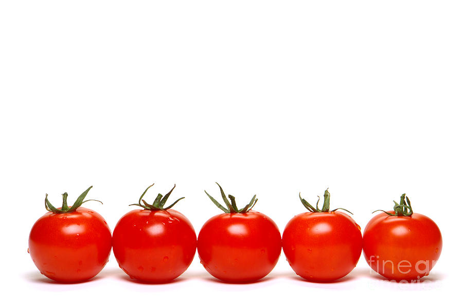 Tomato Photograph - Tomatoes by Olivier Le Queinec