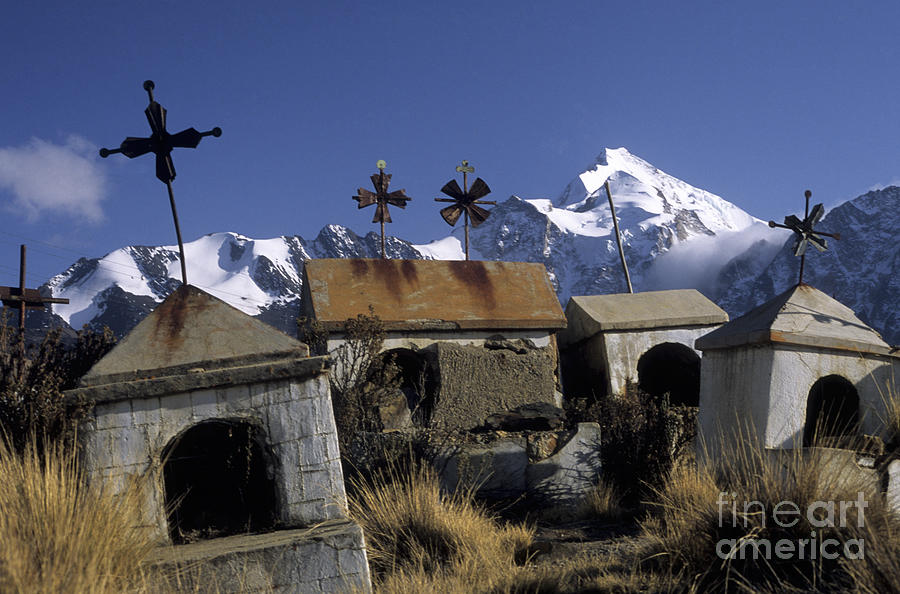 Bolivia Photograph - Tombs With A View by James Brunker