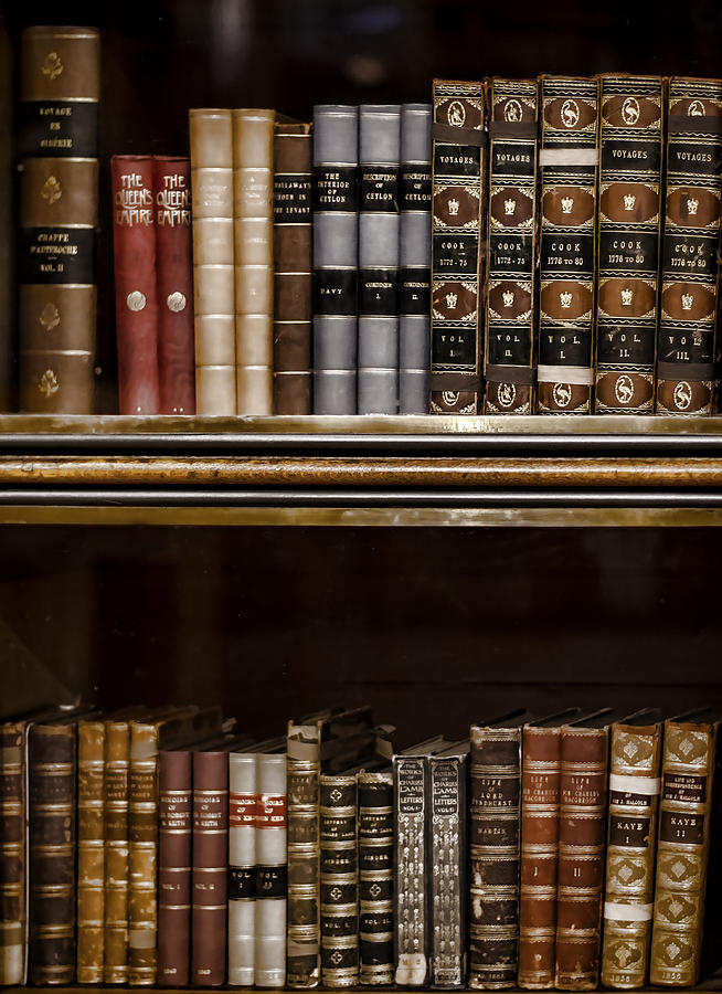 Book Photograph - Tomes by Heather Applegate