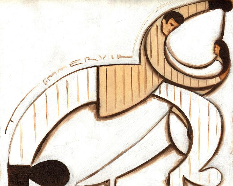 Deco Painting - Tommervik Art Deco Dancers Art Print by Tommervik