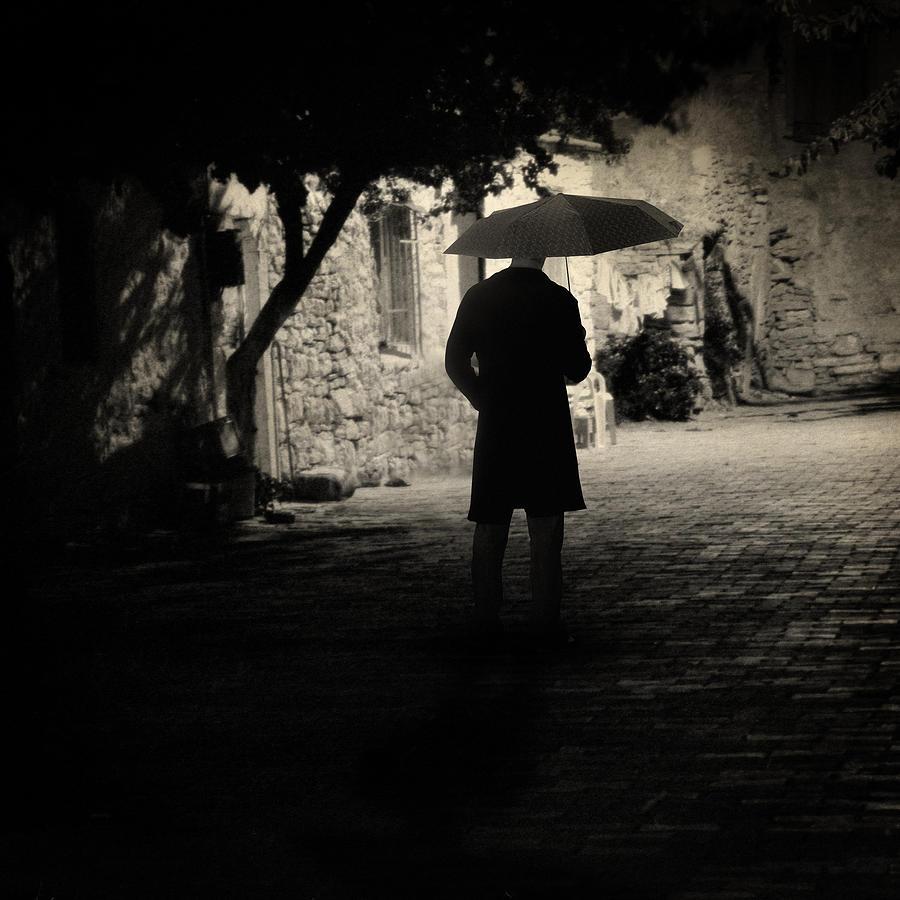 Rain Photograph - Tomorrow by Taylan Apukovska
