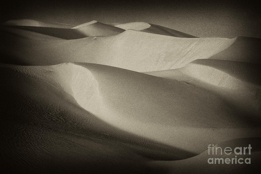 Horizontal Photograph - Toned Dunes - 291 by Paul W Faust -  Impressions of Light