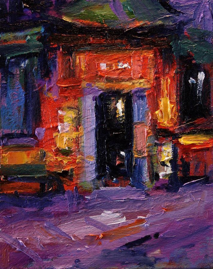 Amsterdam Painting - Tong Ah Restaurant Amsterdam by R W Goetting