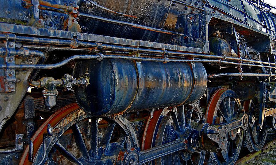 Railroad Tracks.railroad Photos Photograph - Tonnage by Skip Willits