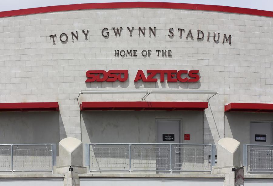 Tony Gwynn Stadium Sdsu Digital Art By Photographic Art By
