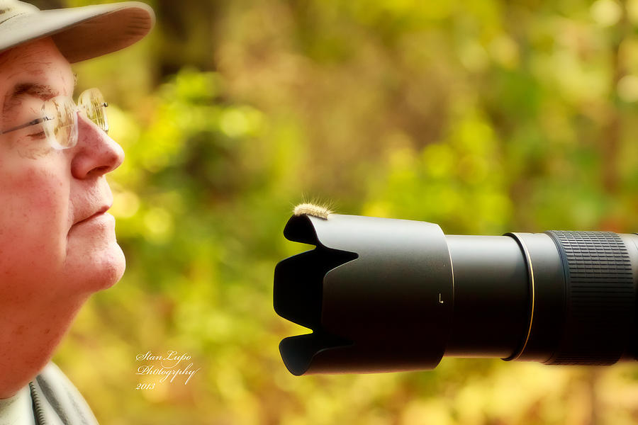 Outdoor Photography Photograph - Too Close To Focus by Stanley Lupo
