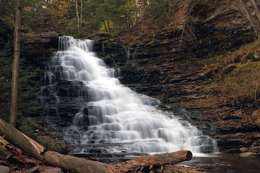 Falls Photograph - Too Many Steps To Count... by Gene Walls