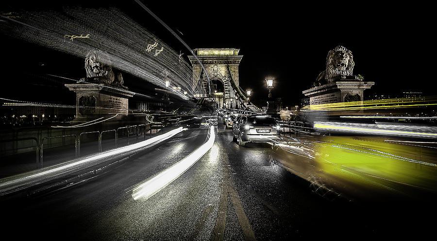Long Exposure Photograph - Too Much Traffic by Carmine Chiriac??
