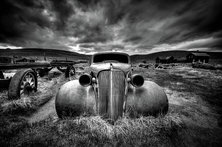 Landscape Photograph - Too Old To Drive by Carsten Schlipf